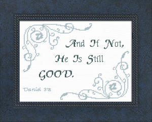 He Is | Crafting | Cross-Stitch | Other