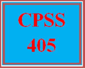 cpss 405 wk 5 - management strategies handbook