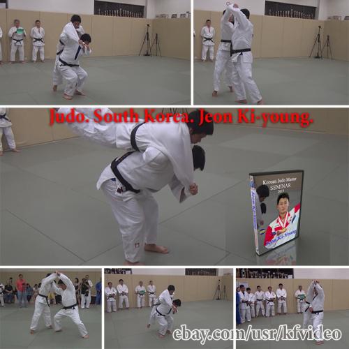 Second Additional product image for - Judo.Seminar.South Korea.Jeon Ki-young.