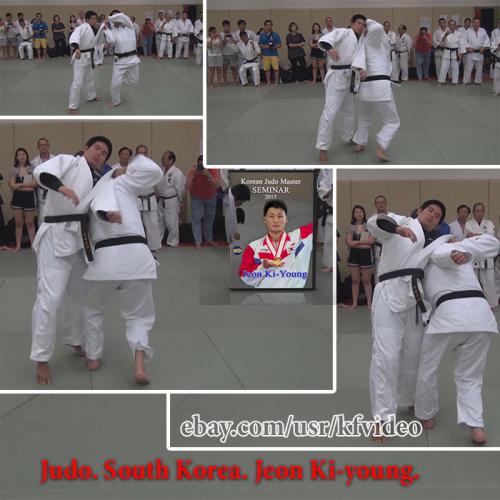 Third Additional product image for - Judo.Seminar.South Korea.Jeon Ki-young.