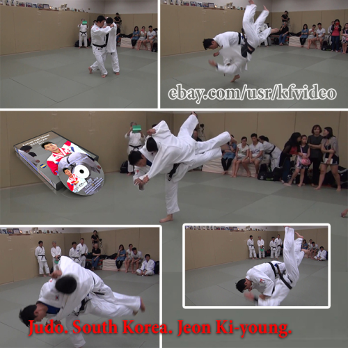 Fourth Additional product image for - Judo.Seminar.South Korea.Jeon Ki-young.