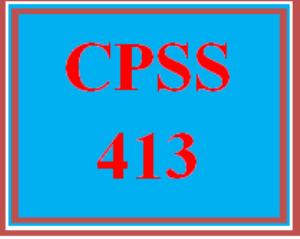 cpss 413 wk 5 team - state statutes comparison presentation