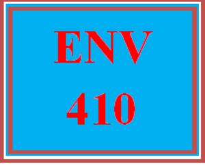 ENV 410 Wk 5 Team - Contaminant Treatment Plan   eBooks   Education