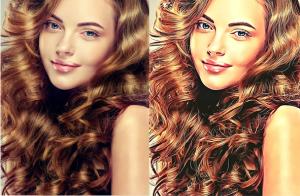 photo effect (onlyfans, social media, instagram, avatar, model)