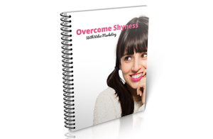 overcome shyness with video marketing