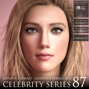 Celebrity Series 87 for Genesis 3 and Genesis 8 Female (8.1) | Software | Design