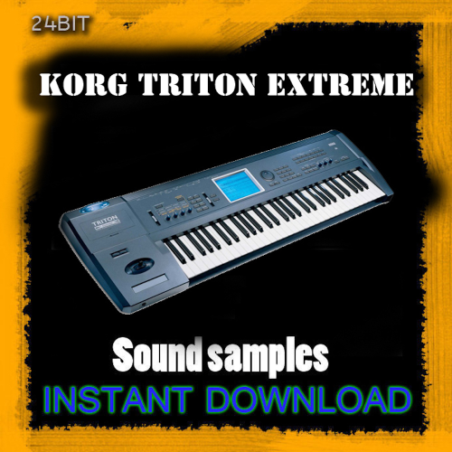 First Additional product image for - Korg Triton Extreme Sound Samples