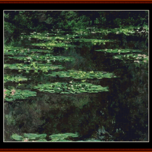 Waterlilies 8 - Monet cross stitch pattern by Cross Stitch Collectibles | Crafting | Cross-Stitch | Other