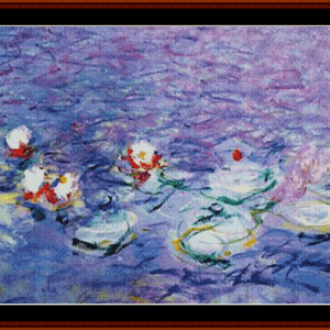 Waterlilies 9 - Monet cross stitch pattern by Cross Stitch Collectibles | Crafting | Cross-Stitch | Other