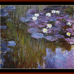 Waterlilies 11 - Monet cross stitch pattern by Cross Stitch Collectibles | Crafting | Cross-Stitch | Other