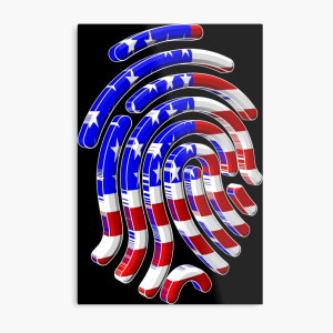 american flagprint