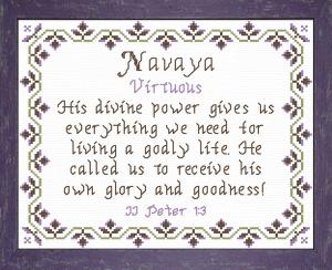 name blessings - navaya