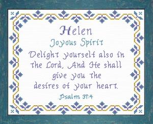 name blessings - helen 2