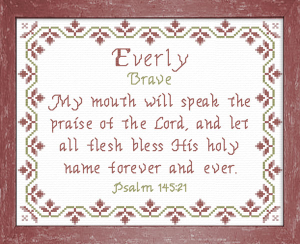 name blessings - everly