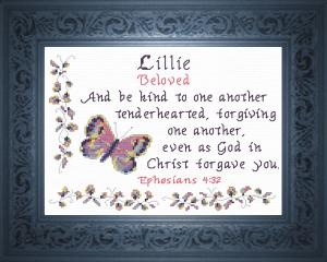 name blessings - lillie