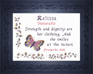 name blessings - relissa