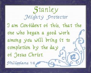 name blessings - stanley