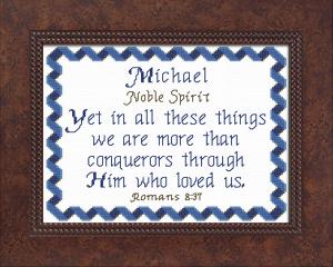 name blessings - michael 4