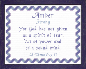 name blessings - amber 2