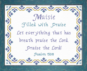 name blessings - maisie