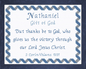 name blessings - nathaniel