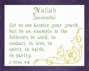 name blessings - nailah