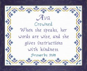 name blessings - ava 2