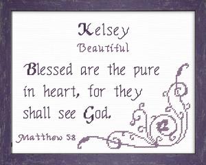 name blessings - kelsey 2