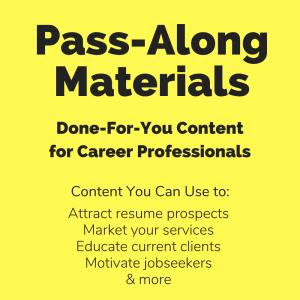 news release package #3 pass-along materials