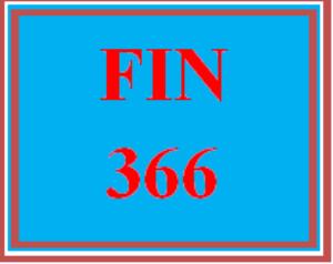 fin 366 wk 3 discussion - money markets