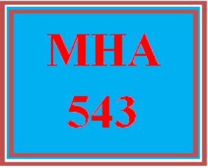mha 543 week 1 - the cost of the health care workforce