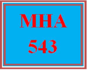mha 543 week 4 discussion board