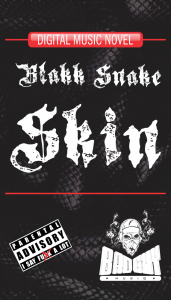 blakk snake skin