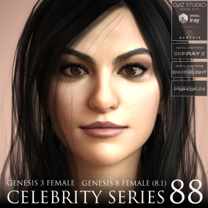 Celebrity Series 88 for Genesis 3 and Genesis 8 Female (8.1) | Software | Design