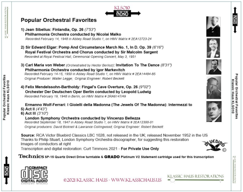 First Additional product image for - Popular Orchestral Favorites