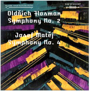 oldrich flosman: symphony no. 2; josef matej: symphony no. 4