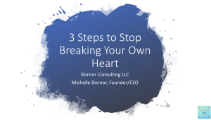 3 Steps to Stop Breaking Your Own Heart Mini Course | Audio Books | Self-help