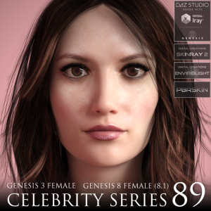 Celebrity Series 89 for Genesis 3 and Genesis 8 Female (8.1) | Software | Design