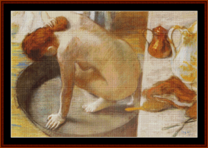 The Tub, 1886 - Degas cross stitch pattern by Cross Stitch Collectibles | Crafting | Cross-Stitch | Other