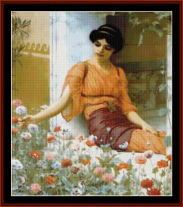Summer Flowers - Godward cross stitch pattern by Cross Stitch Collectibles | Crafting | Cross-Stitch | Other