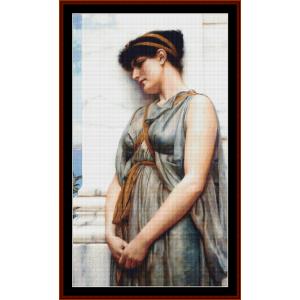 Grecian Reverie - Godward cross stitch pattern by Cross Stitch Collectibles   Crafting   Cross-Stitch   Other