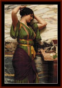 A Fair Reflection - Godward cross stitch pattern by Cross Stitch Collectibles | Crafting | Cross-Stitch | Other