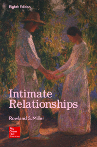 intimate relationships, eighth edition, r. miller