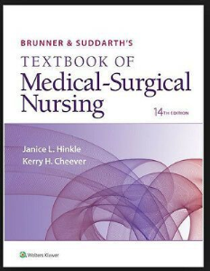 test bank: brunner suddarth medical surgical 14th hinkle 2017. 2099 pages; chapter 1-73. all answers explained.