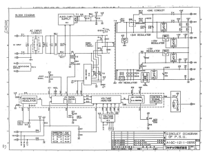 fanuc a16b-1211-0890 psu. power supply (full schematic circuit diagram)