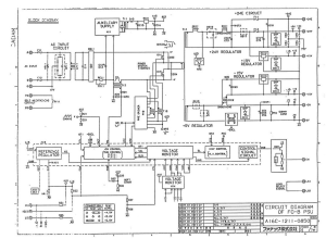 FANUC A16B-1211-0850 PSU. Power Supply (Full Schematic Circuit Diagram) | Documents and Forms | Manuals