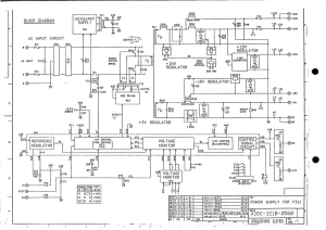 FANUC A16B-1210-0560 PSU. Power Supply (Full Schematic Circuit Diagram) | Documents and Forms | Manuals