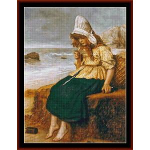 Message from the Sea – J.E. Millais cross stitch pattern by Cross Stitch Collectibles | Crafting | Cross-Stitch | Other