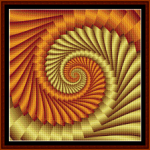 Fractal 384 (Small) cross stitch pattern by Cross Stitch Collectibles | Crafting | Cross-Stitch | Other