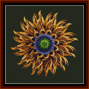 Fractal 415 (Small) cross stitch pattern by Cross Stitch Collectibles | Crafting | Cross-Stitch | Other
